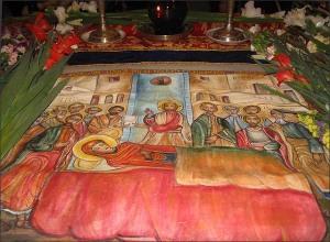 Epitaful Maicii Domnului, Biserica Mihai Voda